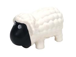 COASTAL RASCALS LATEX TOY SHEEP WHITE 6.5IN