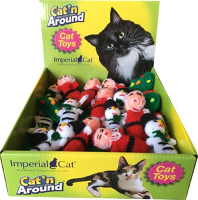 Holiday Catnip Critters
