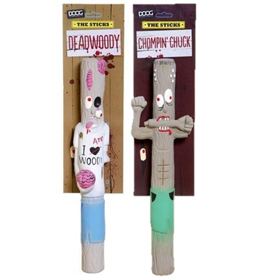 The Zombie Sticks - Deadwoody and Chompin' Chuck