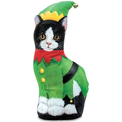 Black & White Elf Kitty Weight