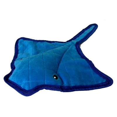 "Bite Me Stingray 14"" Plush Dog Toy"