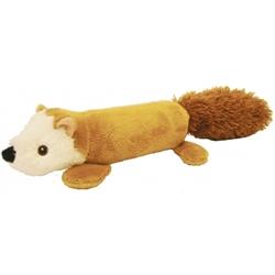 "11"" EZ-Squirrel Plush Dog Toy"