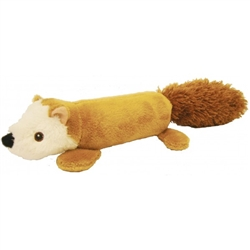 "16"" EZ-Squirrel Plush Dog Toy"