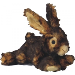 """8"""" Rabbit Plush Dog Toy"""
