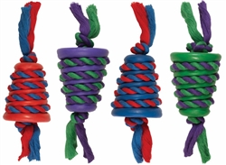 Chomper Medium Mongoose Rope/Rubber Tug & Toss