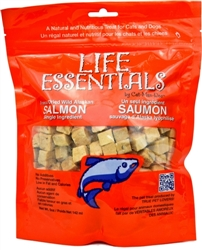 Cat-Man-Doo Bow 2oz. Bags of Freeze Dried Wild Alaskan Salmon