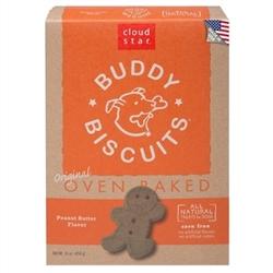 Cloud Star Buddy Biscuits Peanut Butter  16oz.