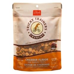 Cloud Star Crunchy Tricky Trainers Cheddar Flavor Dog Treats, 8-oz. bag