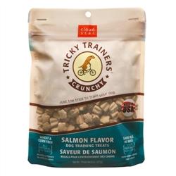 Cloud Star Crunchy Tricky Trainers Salmon Flavor Dog Treats, 8-oz. bag