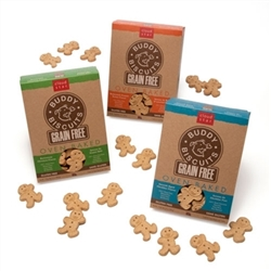 Cloud Star Grain-Free Oven Baked Buddy Biscuits with Rotisserie Chicken Dog Treats, 14-oz. box