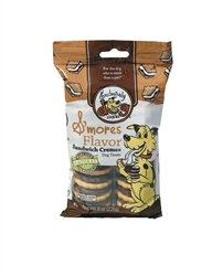 Exclusively Pet Sandwich Cremes S'mores Flavor Dog Treats 8oz.