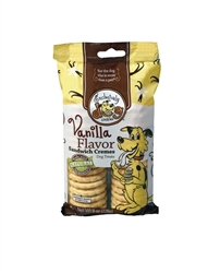 Exclusively Pet Sandwich Cremes Vanilla Flavor Dog Treats 8oz.