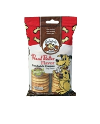 Exclusively Pet Sandwich Cremes Peanut Butter Dog Treats 8oz.