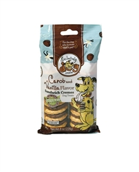 Exclusively Pet Sandwich Cremes Carob and Vanilla Flavor Dog Treats 8oz.
