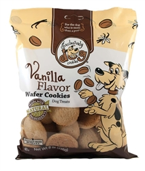 Exclusively Pet Wafer Cookies Vanilla Flavor Dog Treats 8oz.