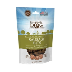 Exclusively Pet Meat Treats Sausage Bits 7oz.