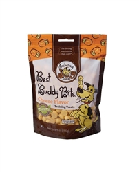 Exclusively Pet Best Buddy Bits Cheese Flavor Dog Treats 5.5oz.
