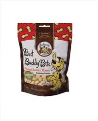 Exclusively Pet Best Buddy Bits Peanut Butter Flavor Dog Treats 5.5oz.