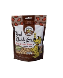 Exclusively Pet Best Buddy Bits Beef and Liver Flavor Dog Treats 5.5oz.