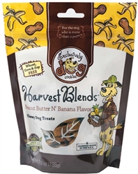 Exclusively Pet Harvest Blends Peanut Butter and Banana Dog Treats 7oz.