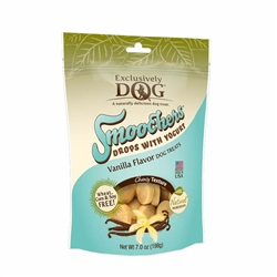 Exclusively Pet Smoochers Yogurt Drops Vanilla Flavor Dog Treats 7oz.
