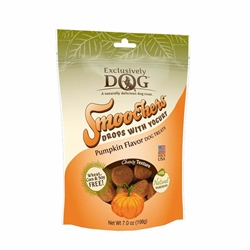 Exclusively Pet Smoochers Yogurt Drops Pumpkin Flavor Dog Treats 7oz.