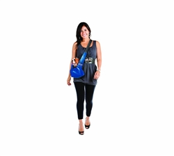 Outward Hound PoochPouch Sling Carrier Blue