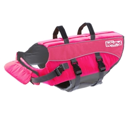 Outward Hound Ripstop Life Jacket Pink X-Large