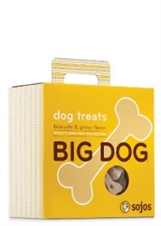 Sojo Dog Big Dog Treat Biscuit Gravy 12oz.