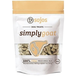 Sojos Dog Simply Goat Treat 4 oz.
