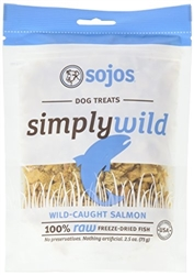 Sojos Dog Simply Wild Salmon Treat 2.5 oz.
