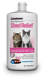 Lambert Kay Linatone Supplement Shed Relief For Cats 16oz.
