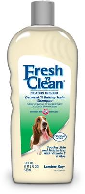 Lambert Kay Fresh 'n Clean Protein Infused Oatmeal N Baking Soda Shampoo 18oz.