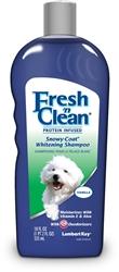 Lambert Kay Fresh 'n Clean Protein Infused Snowy Coat Whitening Shampoo 18oz.