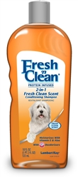 Lambert Kay Fresh 'n Clean 2in1 Protein Infused Conditioning Shampoo Fresh Clean Scent 18oz.