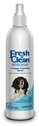Lambert Kay Fresh 'n Clean Cologne Finishing Spray Baby Powder Scent 12oz.