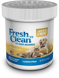 Lambert Kay Fresh 'n Clean Pet Odor Absorber Fresh Linen Scent 8oz.