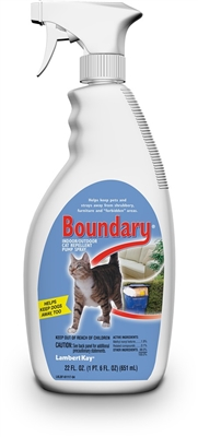Lambert Kay Boundary Cat Repellent Pump Spray 22oz.