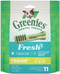 Greenies Grain Free Dental Dog Treat Entry Level  3oz