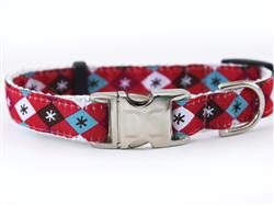 Mad Mutts Collar Silver Metal Buckles