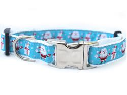 Snowflake Surprise Collar Silver Metal Buckles