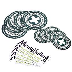 Meowijuana Sticker Pack