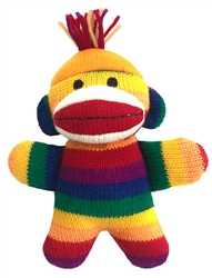 Freddy Baby Sock Monkey by Lulubelles Power Plush