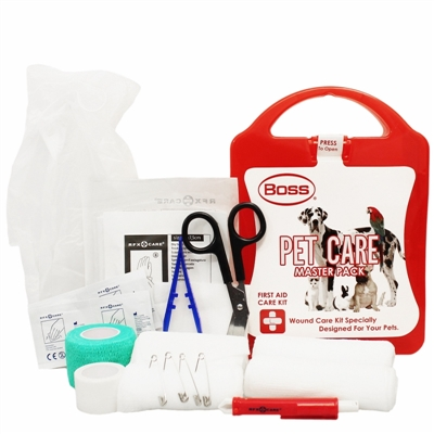 Boss First Aid Pet Care Kit - Large