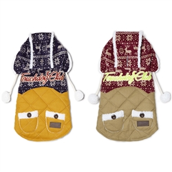 Snowadayz Pom Pom Pet Hooded Sweater