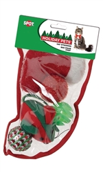 SpoEthical Products Spot Holiday Pet Cat Toy Stocking Small
