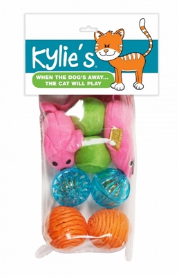 Chomper 8 pc Mouse and Ball Assortment