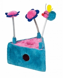 Chomper 1 pc Triangle Flower & Bee Scratcher