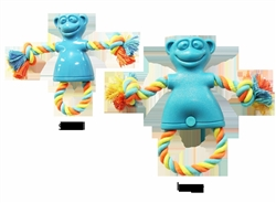 Chomper TPR Monkey with Rope -Small