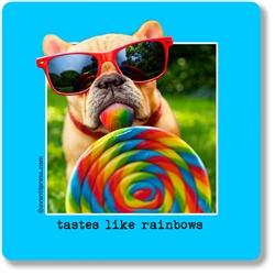 Tastes Like Rainbows Coaster